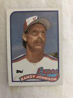 1989 Topps Randy Johnson #647 Baseball Card - rookie card - HOF - invest