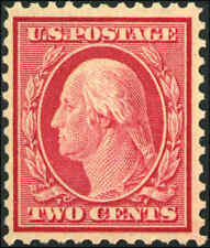1917 US Stamp #519 2c Perf 11 Mint Never Hinged Catalogue Value $1,350 Certified