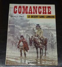 COMANCHE LE DESERT SANS LUMIERE 1976 HERMANN GREG JOURNAL TINTIN
