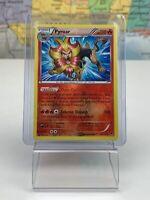 SHIPS SAME DAY Pokemon Card Pyroar 12/119 Reverse Holo Stage 1 Fire Type Rare
