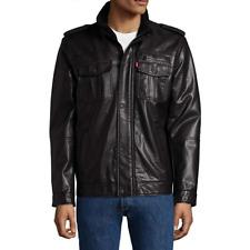 Levis Sherpa Lined Military Men's Black Jacket Size: Med $160