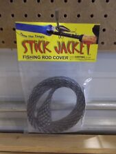 Stick Jacket fishing rod cover Casting black crappie color NIP