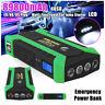 89800mAh 12V LED Auto Jump Starter Booster Batteria Avviatore di Emergenza 4 USB