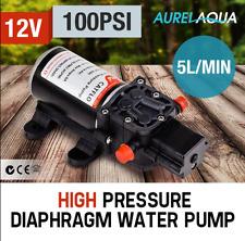 100 PSI High Pressure 5LPM Diaphragm 12V Water Pump Priming Diaphragm Water Pump