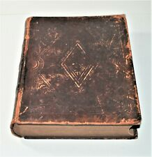New listing 1850 The Holy Bible Old & New Testament, Apocrypha, Canne's Notes, Phinney & Co.