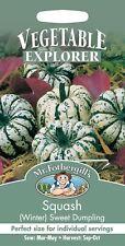 Mr Fothergills - Vegetable - Winter Squash Sweet Dumpling - 20 Seeds