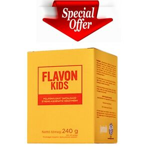 FLAVON KIDS Flavonoids Antioxidant Bioavailable Immune support antiviral vit C