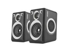 RECCAZR Computer Speakers with Surround Sound 2.0CH USB Wired Powered Multimedia