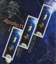 = APOLLO 11 = 50th =Minisheet of 6 (3 Tête-Bêche pairs) SEALED Canada 2019 MNH