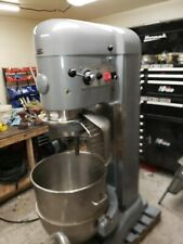 Hobart 140 Qt V-1401 Mixer with cage 5hp Stainless Bowl Tools Late Model