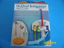 H2Oral Irrigator Water Jet Pick Shower Floss H2O Oral Shower Flosser NEW