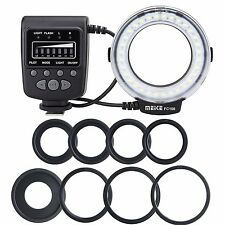 UK Meike FC-100 Macro Ring Flash/Light for Nikon D7100 D7000 D800 D750 D5200 D80