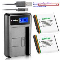 Kastar KLIC-7001 K7001 Charger Battery for Kodak EasyShare M320 M340 M341