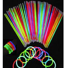 "200  8"" Glowsticks Light Stick Glow Bracelets 200 Sticks & Connectors Included"