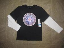 NWT Boys JUMPING BEANS Basketball Layered T-shirt Size XL 7 7X Skater Shirt