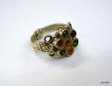 ring gypsy hippie traditional jewelry vintage antique ethnic tribal old silver