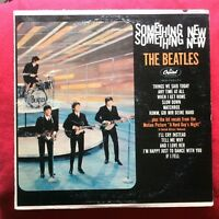The Beatles SOMETHING NEW USA LP T 2108 vinile Lennon McCartney Harrison Starr