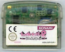BOKTAI 2  Solar Boy Django / RPG  GAME BOY - POUR   GAME BOY ADVANCE/SP/DS LITE