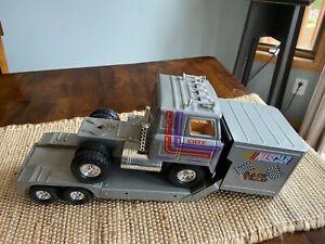 Vintage ERTL International Transtar NASCAR Race Team Semi Truck/Trailer
