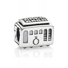 Authentic Pandora Charm Sterling Silver 791219CZ Cable Car Bead