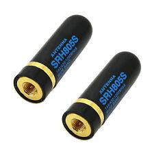 2X SRH805S SMA-J / Male UHV+VHF Antenne Für BAOFENG UV3R UV100 UV200 YAESU Heiß