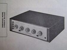 SHERWOOD S-1000-II Revised AMP AMPLIFIER PHOTOFACT