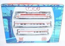 "Jouef HO SNCF French CC 40101 ""TEE"" ELECTRIC LOCOMOTIVE & INOX WAGON Set`76 RARE"
