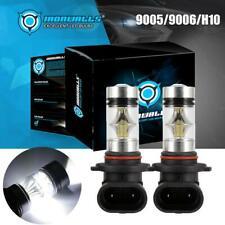 9005 9006 H10 Led Fog Lights Bulbs for 03-06 Gmc Sierra 1500 2500 Hd 6000K Lamps(Fits: Neon)