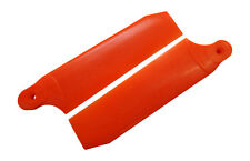 KBDD Neon Orange 104mm Extreme Tail Rotor Blades -Trex 700 Goblin 630 #4079