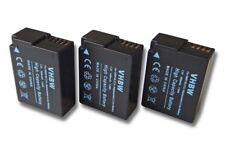 3x BATERIA INFOCHIP PARA Panasonic Lumix DMC-G7HK,DMC-G7,DMC-FZ1000