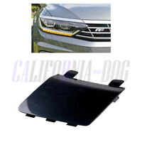 Primed Front Bumper Tow Hook Cover Cap For VW Volkswagen Passat CC 2009-2012