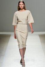 NEW $895 Max Mara Adriana Seamed Dress 42 6