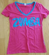 Zumba® Join the Party Tshirt - Pink and Blue - Large