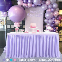 Tutu Tulle Table Skirt Tableware Table Cloth Cover Home Wedding/Party Decor DIY