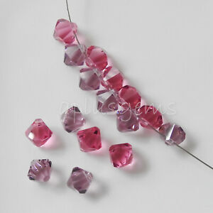 12PCS Authentic 8MM Swarovski Crystal Top Drill Beads #6301 pick colors