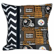 NEW NFL Pittsburgh Steelers Football Decorative Throw Pillow