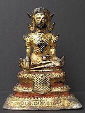 Ancien Bouddha en Bronze de THAILANDE