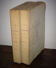 Jules JANIN Contes et Nouvelles 1876 Jouaust Tirage limité Eau-forte E. Hédouin