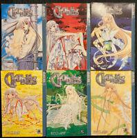 Chobits 1, 2, 3, 4, 5, 8 Manga Graphic Novel Tokyopop Sci-Fi Romance OOP