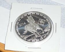 2014 year of the horse chinese zodiac 1 oz silver .999 fine silver
