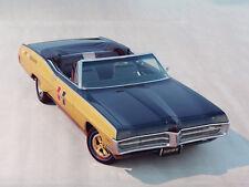 1967 Pontiac Grand Prix HURST Convertible #2, Black/Gold, Refrigerator Magnet