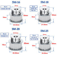 HTD-5M Timing Belt 500mm-595mm Perimeter 15mm-30mm Width Ring Rubber Belt