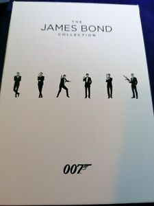 The James Bond Collection 1-23 (DVD) Sean Connery, George Lazenby, Roger Moore
