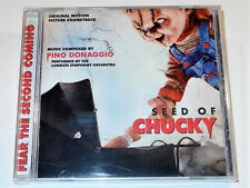 Pino Donaggio SEED OF CHUCKY Soundtrack CD New & Sealed