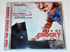 Pino Donaggio SEED OF CHUCKY Soundtrack CD New & Sealed