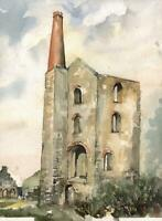 ENGINEHOUSE Watercolour Painting - 20TH CENTURY
