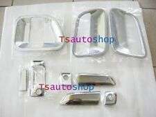 FOR TOYOTA HIACE COMMUTER 2005-2013 V2 VAN CHROME 3DOOR HANDLE BOWL COVER TRIM