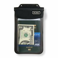 DiCaPac WP-565 Waterproof Case Multipurpose Bag for Smartphone Passport - Black