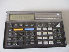CACULATRICE TEXAS INSTRUMENTS GALAXY 67 CALCULATOR
