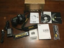 Nikon D300 12.3MP Digital SLR Camera - Black (Body Only)